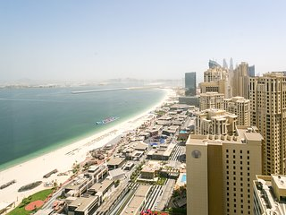 Near JBR! Luxury Beachfront Apartment