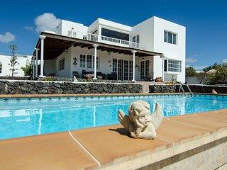 Casa Tesa, su hogar en Lanzarote