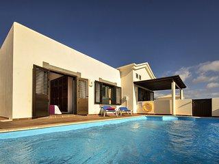 Villa Los Charcones, piscina y relax