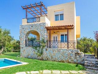 Kalyves Villa Sleeps 4 with Pool Air Con and WiFi - 5334418