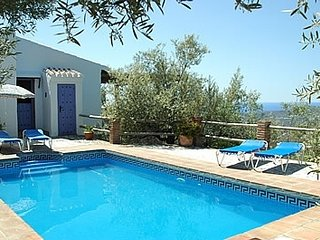 2 bedroom Villa in Frigiliana, Andalusia, Spain : ref 5455162