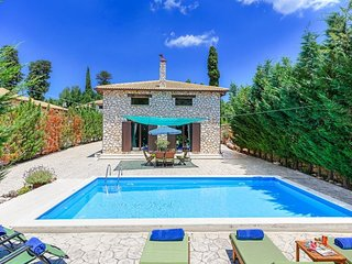 3 bedroom Villa in Marantochori, Ionian Islands, Greece : ref 5334405