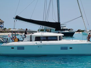 British Virgin Island's Catamaran Sailing