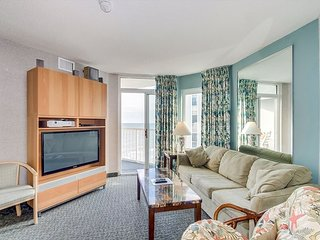 Ocean view condo in the fantastic Seawatch Resort, great amenities & location