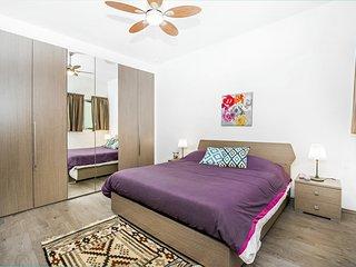 Vista al mar, Moderno, acogedor dormitorio privado