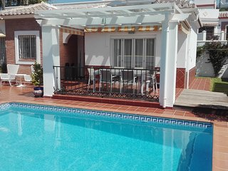 NERJA.VILLA 3 ROOMS,2 BATHS AND PRIVATE POOL