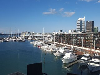 Beautiful views from this Two Bedroom Waterfront Auckland Apartment