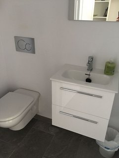 Guest toilet by main entrance
