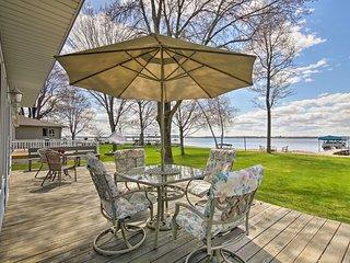 NEW! Beautiful Waterfront Home on Shawano Lake!