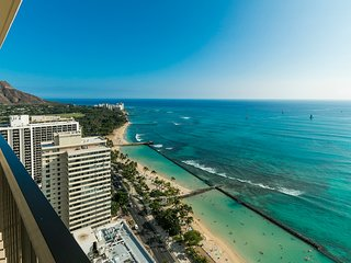 The Residences at Waikiki Beach Tower - 2-Bedroom Premium Oceanfront