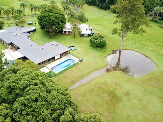 Arial photo of our property.