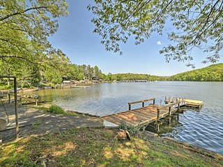 NEW! Lakefront Harrison Cottage w/ Dock & Views!