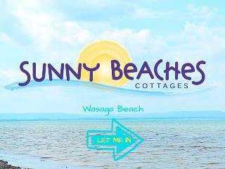 Sunny Beaches Cottages - Sand on the Beach