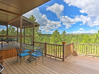 NEW! Hermosa Home w/ Blackhills View & Lavish Deck