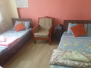 Chambre privée avec petit déjeuner, 15min a pied du Thamel, Kathmandu, Nepal