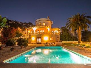 4 bedroom Villa in Benissa, Valencia, Spain : ref 5401406