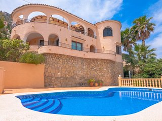3 bedroom Villa in Calpe, Valencia, Spain : ref 5047240