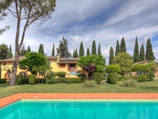 4 Camere con piscina e vista panoramica su Assisi