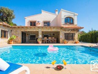 6 bedroom Villa in Benissa, Valencia, Spain : ref 5401437