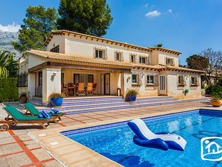 4 bedroom Villa in Calpe, Valencia, Spain : ref 5401535