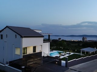 Villa Panorama.  The best view of the Dalmatian Archipelago