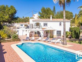 4 bedroom Villa in Moraira, Valencia, Spain : ref 5401399
