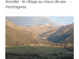 Joli appartement à Ancelle dans les Hautes Alpes
