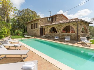 4 bedroom Villa in San Giovanni d'Asso, Tuscany, Italy : ref 5576861
