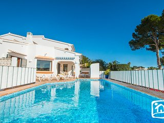 3 bedroom Villa in Moraira, Valencia, Spain : ref 5401516
