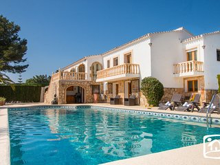 5 bedroom Villa in Moraira, Valencia, Spain : ref 5401382