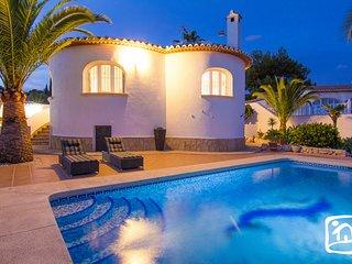 3 bedroom Villa in Calpe, Valencia, Spain : ref 5401528