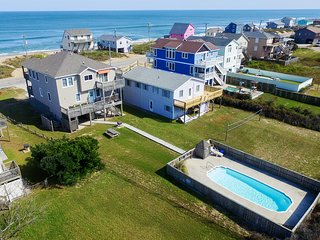 Hokie Heaven | 50 ft from the beach | Private Pool, Hot Tub