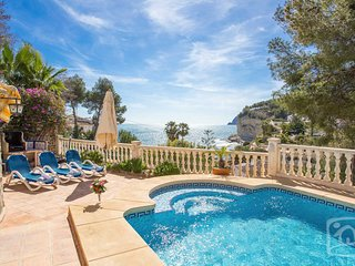 4 bedroom Villa in Moraira, Valencia, Spain : ref 5401478