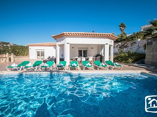 5 bedroom Villa in Calpe, Valencia, Spain : ref 5401466