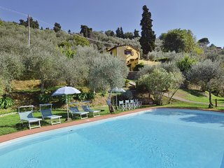 5 bedroom Villa in Mommio Castello, Tuscany, Italy : ref 5540514