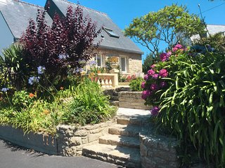 3 bedroom Villa in Trévou-Tréguignec, Brittany, France : ref 5436370