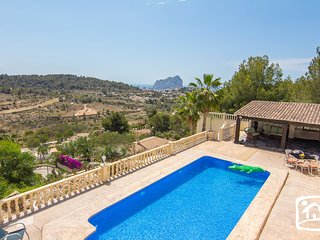 5 bedroom Villa in Calpe, Valencia, Spain : ref 5401443
