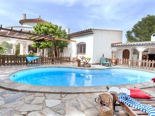 6 bedroom Villa in Las Tres Cales, Catalonia, Spain : ref 5605244