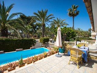 4 bedroom Villa in Can Picafort, Balearic Islands, Spain : ref 5311279