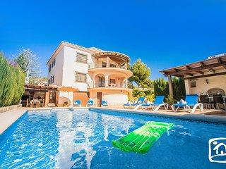 6 bedroom Villa in Benissa, Valencia, Spain : ref 5401421