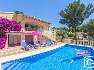 3 bedroom Villa in Moraira, Valencia, Spain : ref 5401458