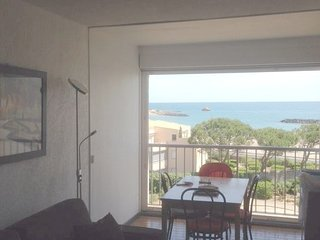 Beautiful studio with sea view