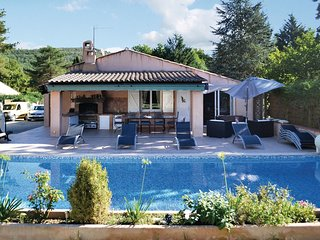 4 bedroom Villa in Le Gravamoura, Provence-Alpes-Côte d'Azur, France : ref 55655