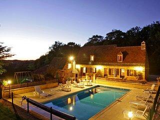 Belle maison piscine privée Les Bousquies