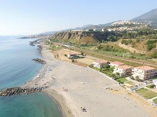 Appartamento direttamente sulla spiaggi a 70 metri dal mare.