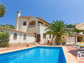 5 bedroom Villa in Benissa, Valencia, Spain : ref 5401444