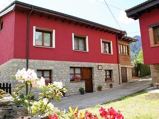 Casa para 4 personas, ideal para conocer el Parque Natural de Ponga.
