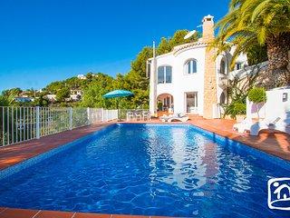 4 bedroom Villa in Moraira, Valencia, Spain : ref 5401553