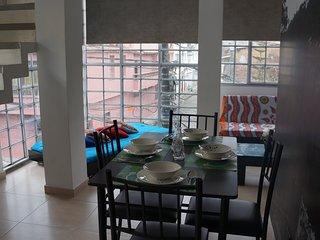 Nuevo apartamento dúplex para grupos o familias