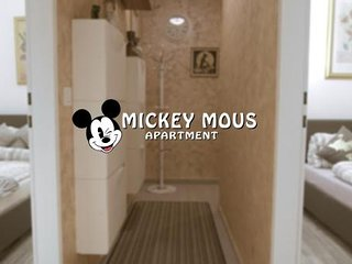 Mickey Mouse Apartment in Hernals